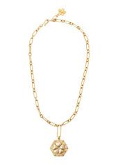 Brinker & Eliza Primrose 24K Gold-Plated Pendant Necklace