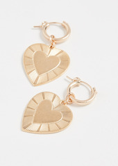Brinker & Eliza The Best Is Yet To Come Huggie Earrings