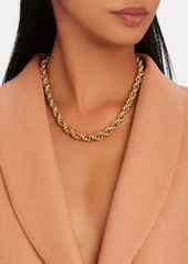 Brinker & Eliza Chain Reaction Rolled Rope Necklace