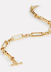 Brinker & Eliza Check Mate Chain-Link Necklace