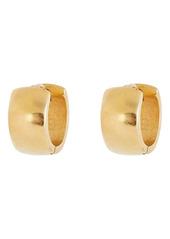 Brinker & Eliza Chubby Huggie Hoop Earrings