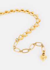 Brinker & Eliza Eros Open Heart Chain Necklace