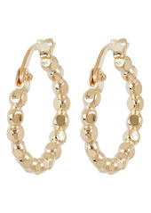 Brinker & Eliza Everyday Beaded Huggie Hoop Earrings