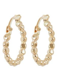 Brinker & Eliza Everyday Beaded Huggie Hoop Earrings