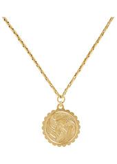 Brinker & Eliza Fauna Medallion Snake Chain Necklace