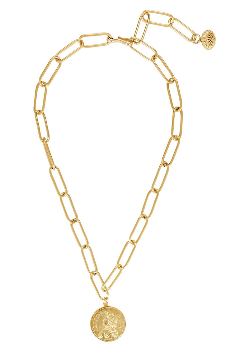 Brinker & Eliza Heroine Paperclip Lariat Necklace