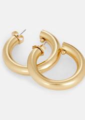 Brinker & Eliza Jumbo Tubular Hoop Earrings