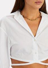 Brinker & Eliza Love Knot Chain-Link Necklace