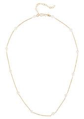 Brinker & Eliza Meghan Pearl Chain Necklace