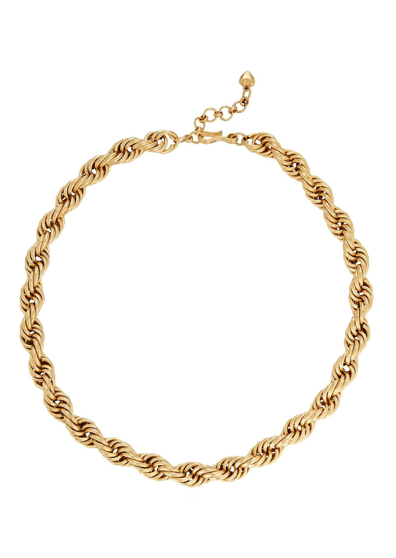 Brinker & Eliza Spiral Staircase Chain-Link Necklace