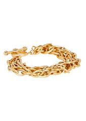 Brinker & Eliza Triple Threat Chain-Link Bracelet