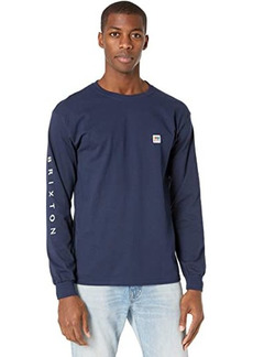 Brixton Alton II Long Sleeve Standard Fitting T-Shirt