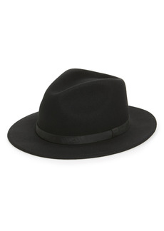 Men's Brixton 'Messer Ii' Felted Wool Fedora - Black
