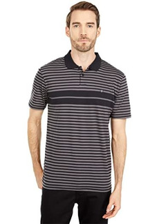 Brixton Shield Stripe Short Sleeve Polo X Knit