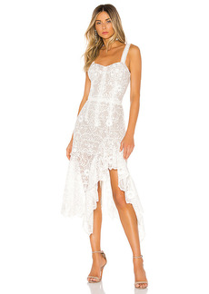 Bronx and Banco Tiffany Blanc Dress