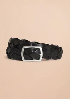 Brooks Brothers Braided Leather Belt