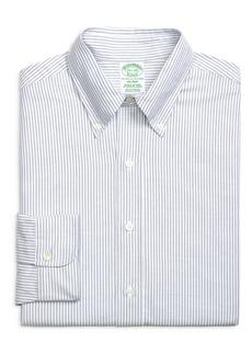 Brooks Brothers Milano Slim Fit Stripe Dress Shirt