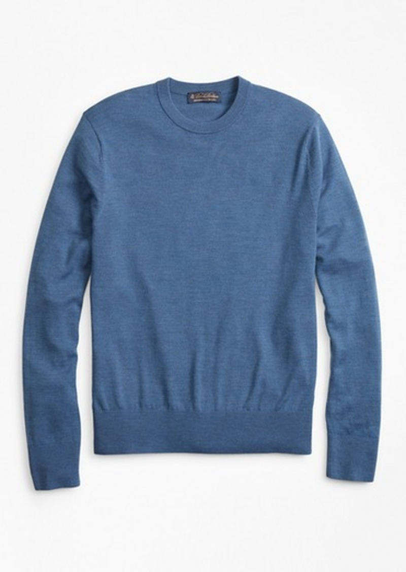 Brooks Brothers BrooksTech™ Merino Wool Crewneck Sweater