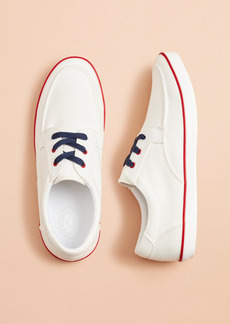 Brooks Brothers Canvas Boat Sneakers