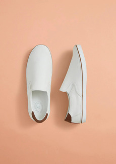 Brooks Brothers Canvas Slip-On Sneakers