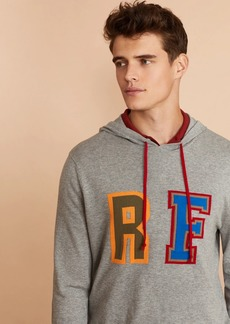 Brooks Brothers Color-Contrast Logo Hoodie