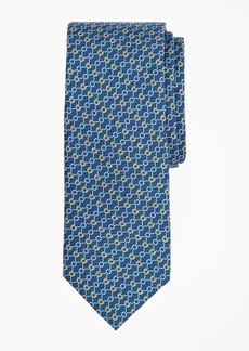Brooks Brothers Connected Bits Print Tie