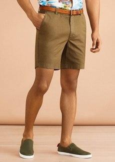 "Brooks Brothers Cotton-Linen 7"" Chino Shorts"
