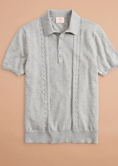 Brooks Brothers Cotton Polo Sweater