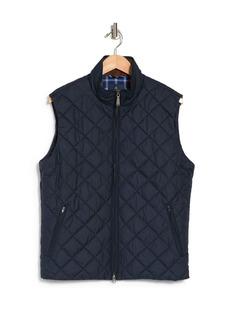 Brooks Brothers Diamond Quilt Zip Vest
