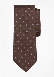 Brooks Brothers Four-Petal Square Medallion Tie