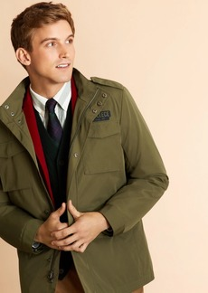 Brooks Brothers Four-Pocket Field Jacket with Removable Vest