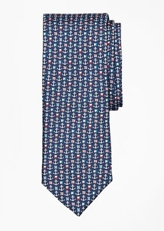 Brooks Brothers Nautical Motif Tie