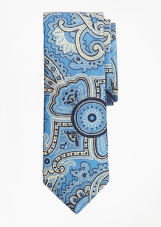 Brooks Brothers Paisley Print Wool Tie