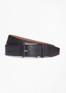 Brooks Brothers Pebble Leather Belt