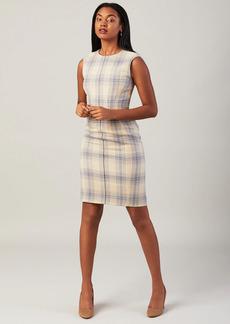 Brooks Brothers Plaid Sheath Dress