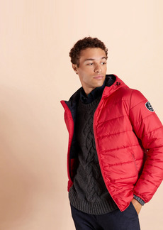 Brooks Brothers Quilted Hooded Puffer Jacket