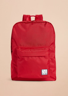 Brooks Brothers Red Fleece Logo Backpack