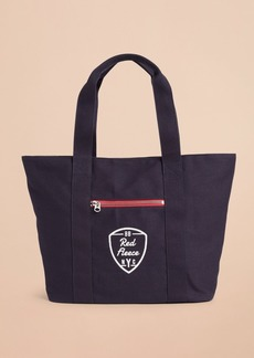 Brooks Brothers Red Fleece NYC Canvas Tote Bag