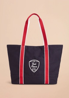 Brooks Brothers Red Fleece NYC Large Canvas Tote Bag