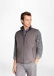 Brooks Brothers Reversible Quilted Down Vest