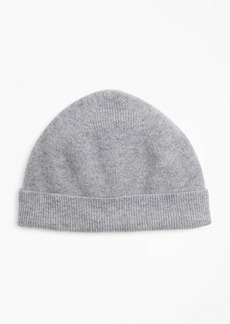 Brooks Brothers Ribbed Cashmere Hat