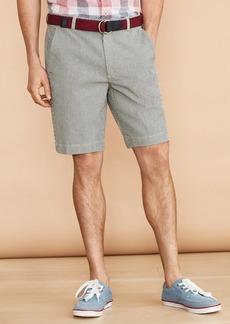 Brooks Brothers Striped Indigo Chino Shorts