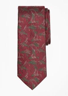 Brooks Brothers Winter Ducks Tie