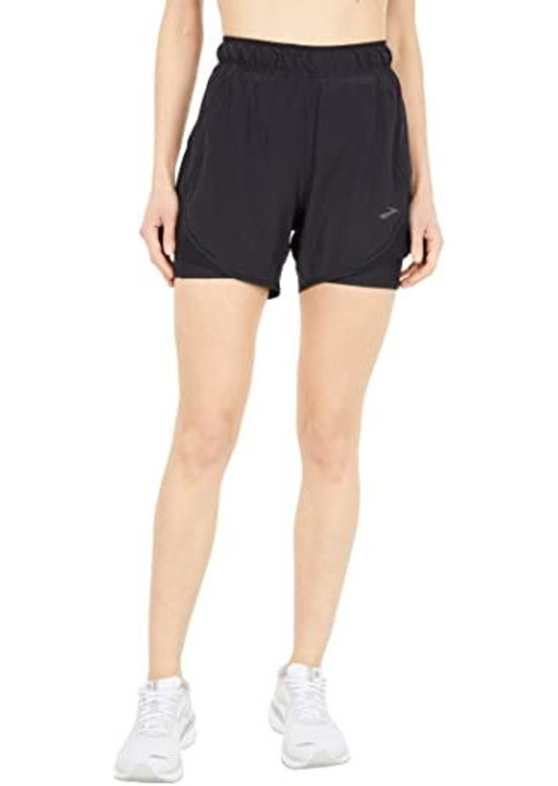 "Brooks Chaser 5"" 2-in-1 Shorts"