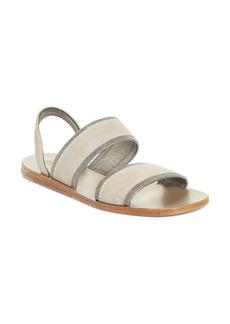 Brunello Cucinelli Monili Slingback Sandal (Women)