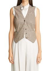 Brunello Cucinelli Sequin Check Vest