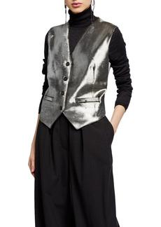 Brunello Cucinelli Moonlight Calfskin Vest