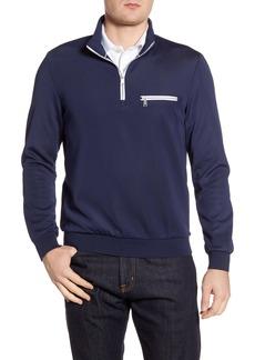 Bugatchi Half Zip Pullover