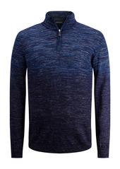 Bugatchi Merino Wool Blend Quarter Zip Sweater
