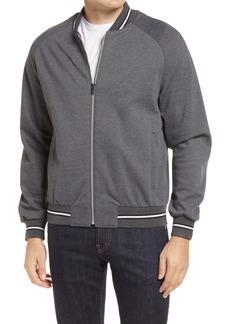 Bugatchi Performance Knit Bomber Jacket
